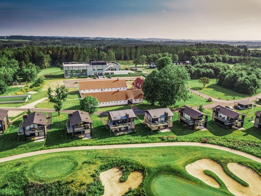 Lübker Golf Resort i Nimtofte på Djursland. (PR-foto)