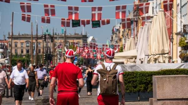 Euro 2020 stemning i KBH: (Foto: Woco/Daniel Rasmussen)
