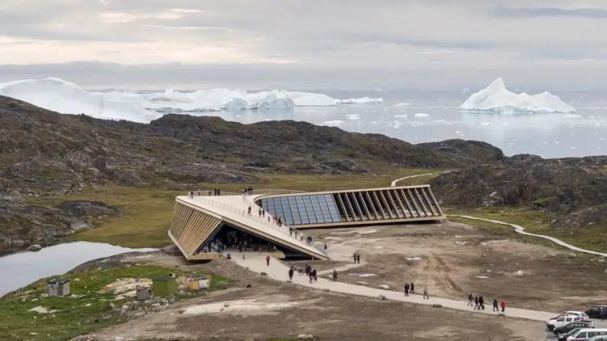 Ilulissat Isfjordcenter. (Foto: Adam Mørk)