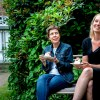 Destinationsudvikler - Julie Bjerre Hermansen og Elisabeth Ibing Holm - afdelingschef på EUC SYD, er klar til Danmarks sødeste festival i Tønder. Foto: Ulrik Pedersen, Tøndermarsk Initiativet. B