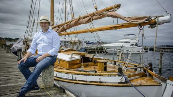 Søren Noes, fmd. LAG Småøerne (Foto: Morten Telling)