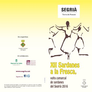 Sardanes a la fresca 2016 1