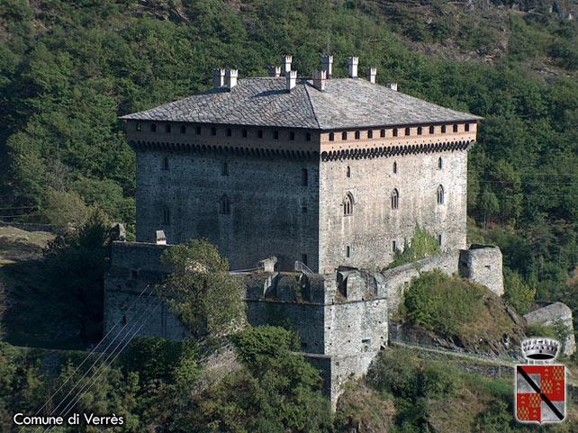 Comune di Verrs AO  Sito ufficiale  Il castello di Verrs
