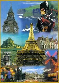 Excurses para a Europa  Cultura e Viagem  Turismo
