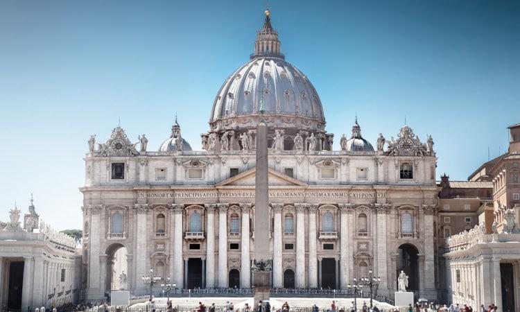sobre a arquitetura basilica de sao pedro