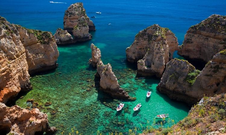 pontos turisticos de portugal praias do algarve