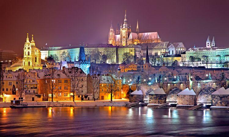 Principais pontos turísticos em Praga