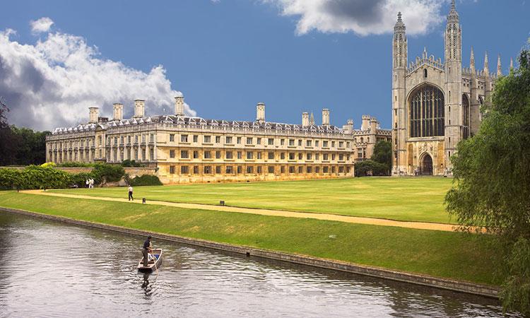 Cambridge em Inglaterra