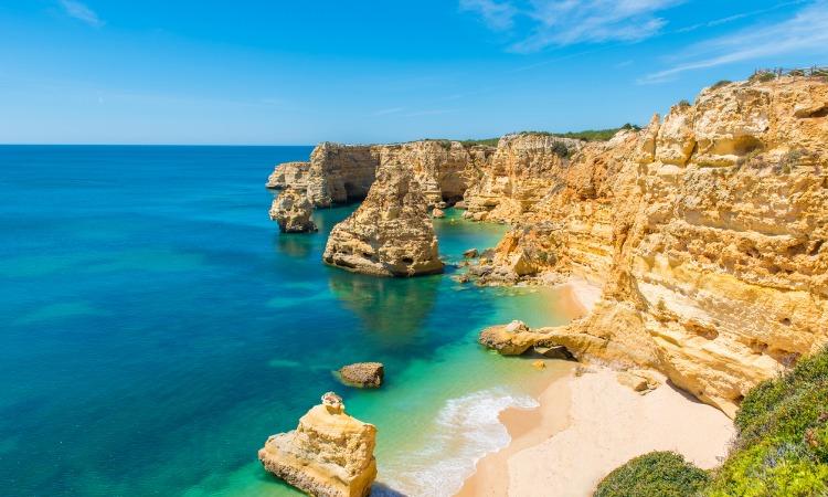Praias de Portugal Praia da Marinha
