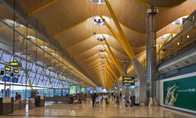 Terminal 4 aeroporto de Madri-Barajas