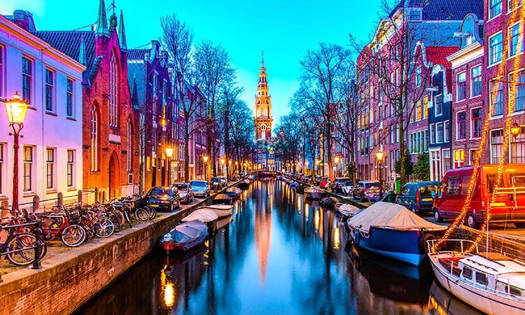 Viagem a Amsterdam