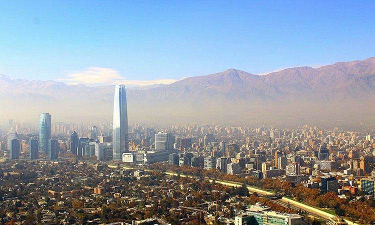 Viagem para Santiago do Chile