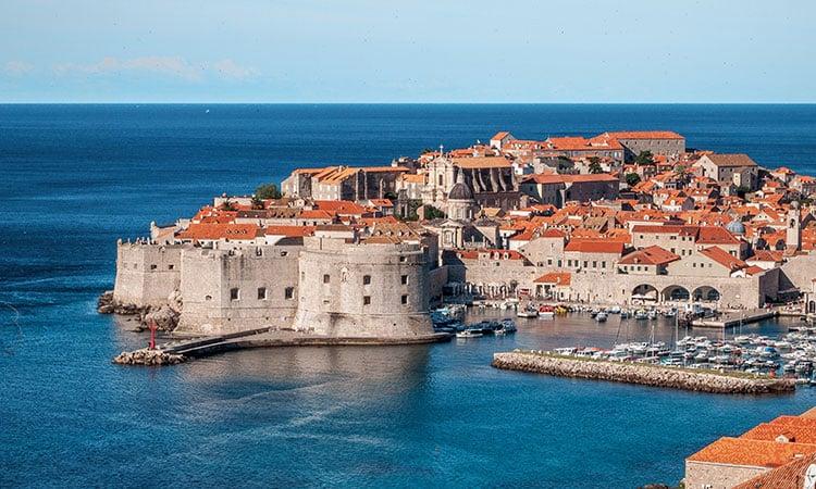 Dubrovnik na Croácia