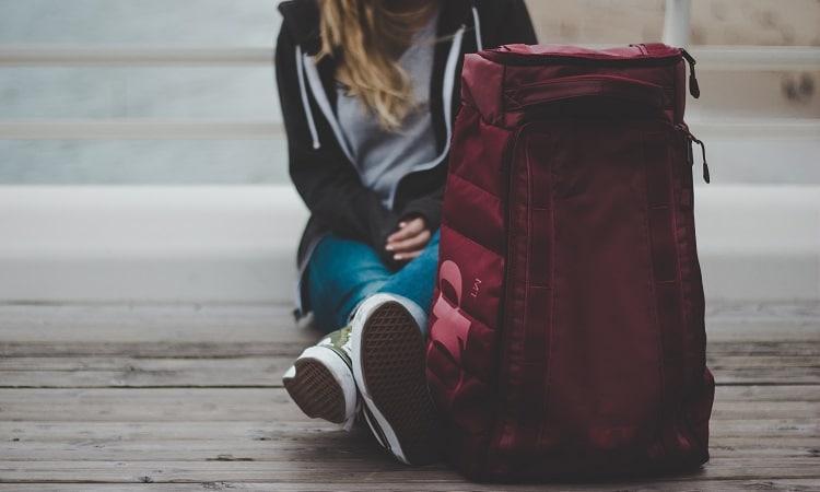 mochila de viagem feminina