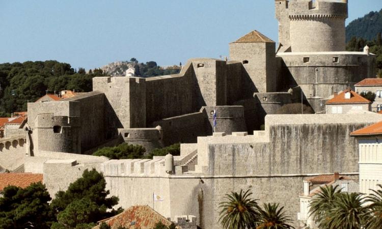 Fortaleza Minceta em Dubrovnik