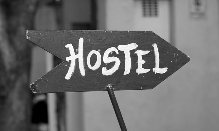 hostel gastando pouco