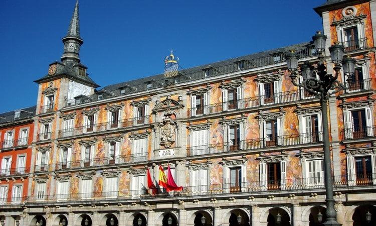 pontos turisticos de madri plaza mayor
