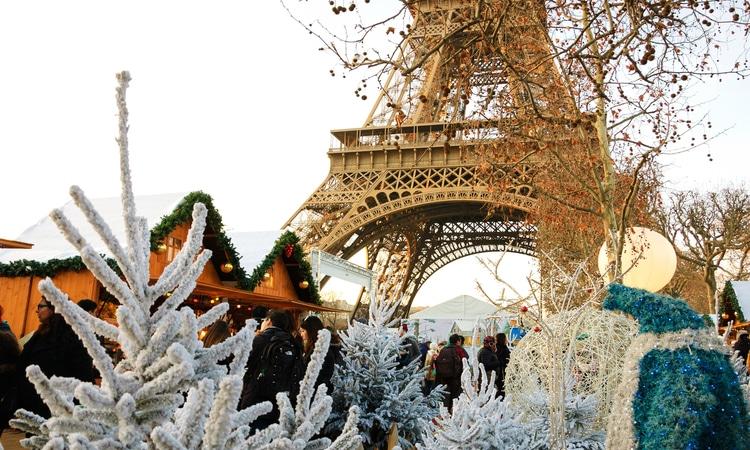Decoração natalina em Paris
