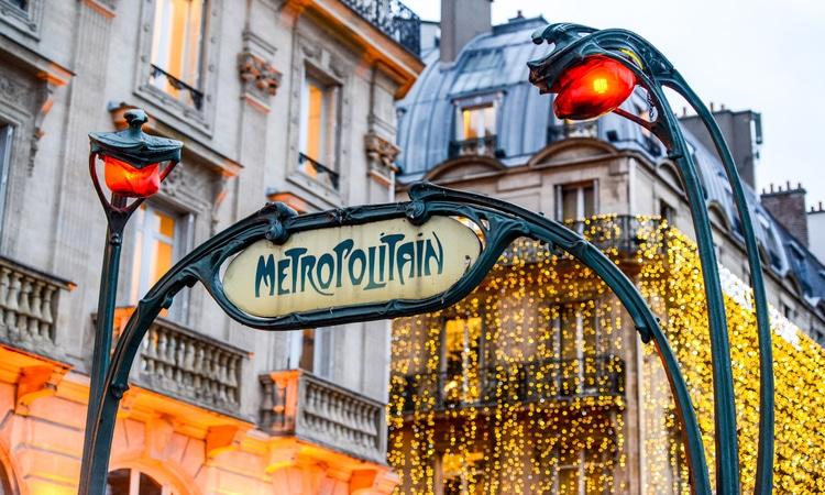 Luzes de Natal em Paris