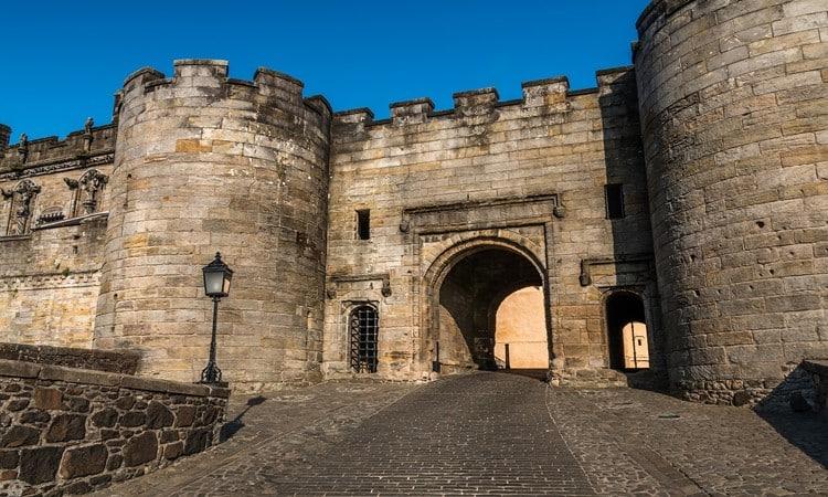 pontos turisticos na escocia castelo de stirling