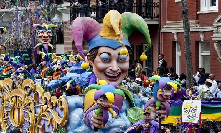 Desfile de carnaval na Inglaterra