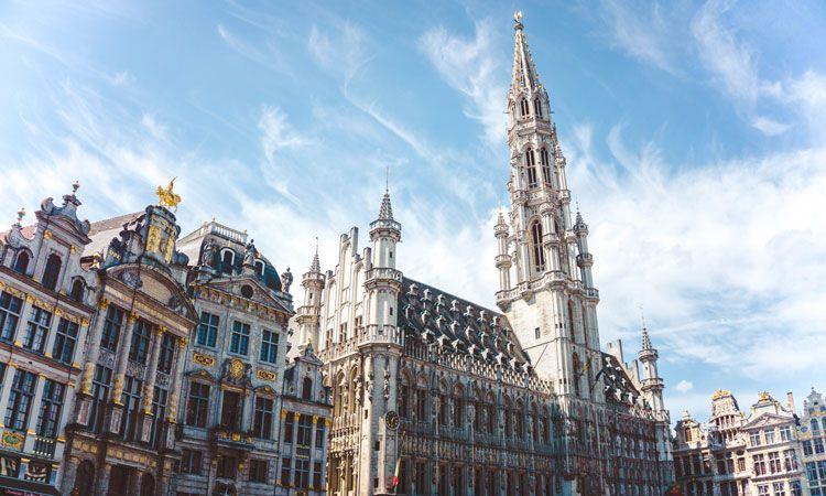 belgica, paises menos visitados da Europa