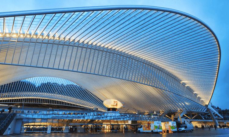 Estação Guillemins de Liége, estações de trem mais bonitas