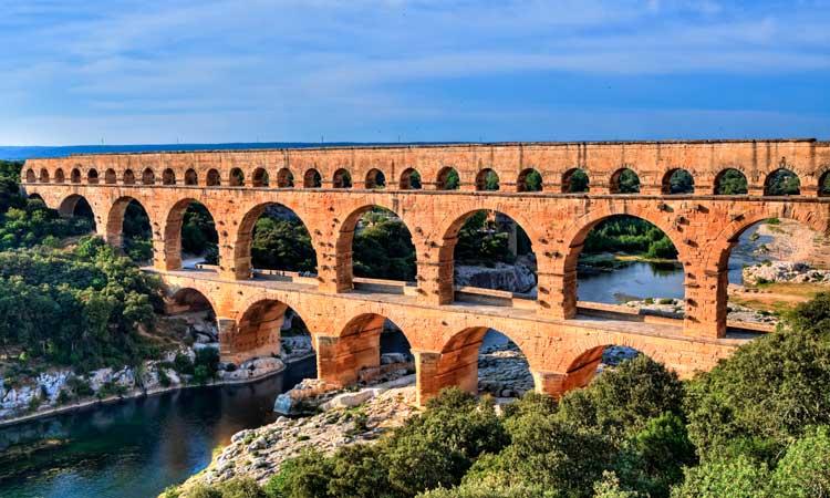 pont du gard, pontes mais bonitas da europa