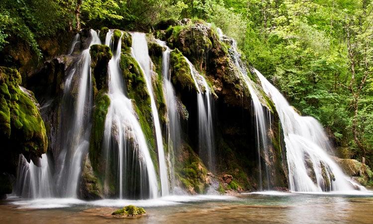 cachoeira de tufs, belezas naturais na franca