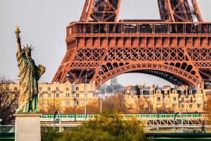estatua da liberdade em paris