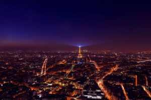 luzes de paris