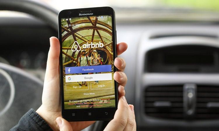 aplicativo airbnb