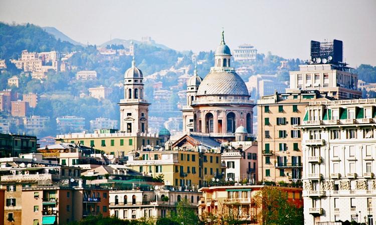 como chegar na cidade de genova