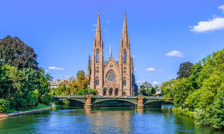 igrejas medievais em estrasburgo