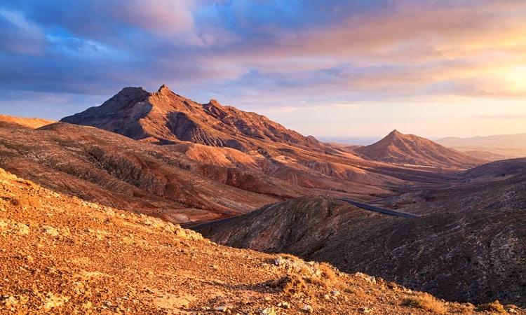 paisagem de fuerteventura