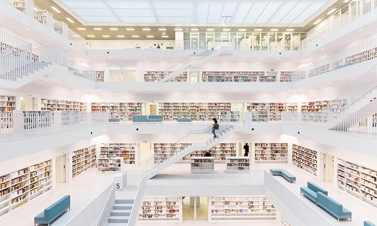stadtbibliothek o que fazer em stuttgart