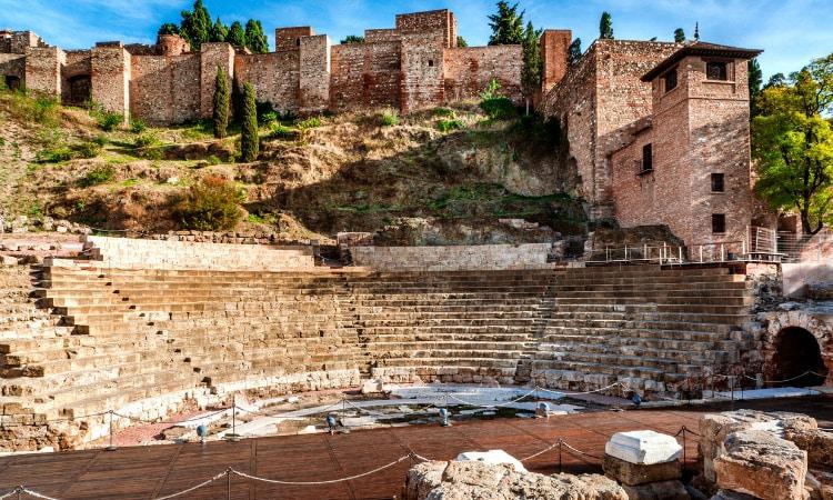 o que fazer em Malaga teatro romano