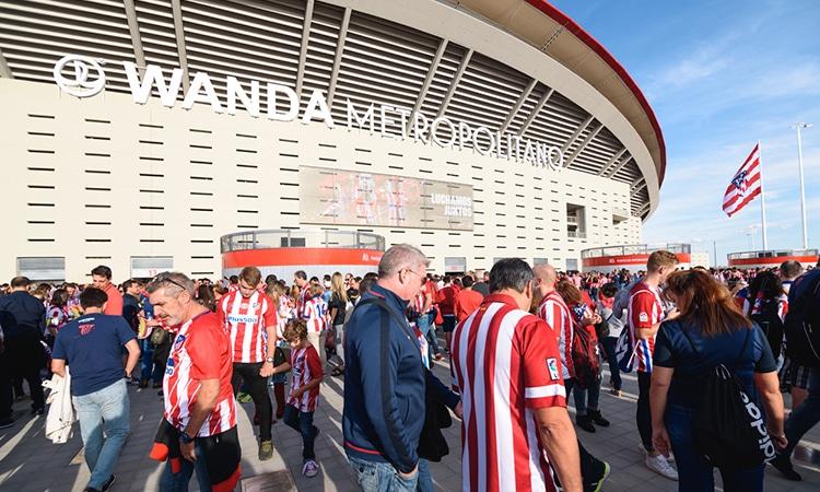 wanda metropolitano ou estádio do atlético de madrid