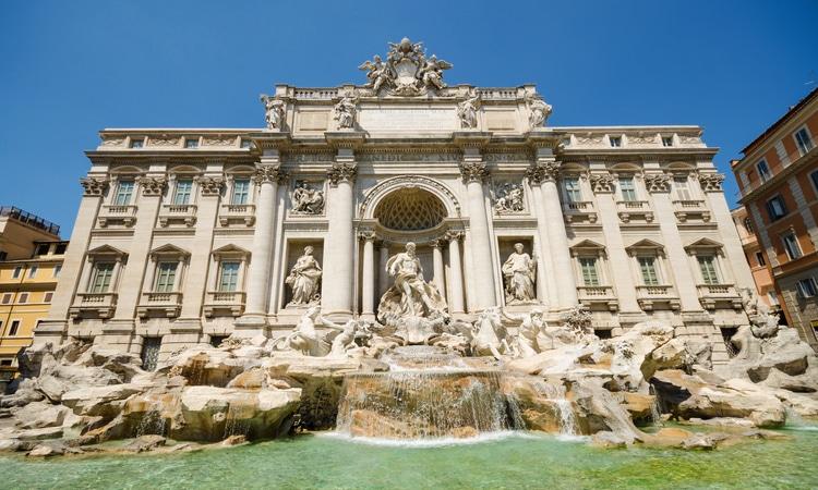 fontana di trevi top 5 de roma