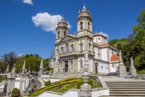 Bom Jesus do Monte em Braga
