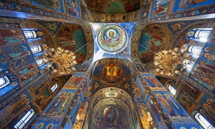 catedral de sao petersburgo mosaico
