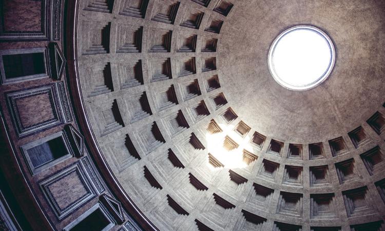 como economizar em Roma Panteão