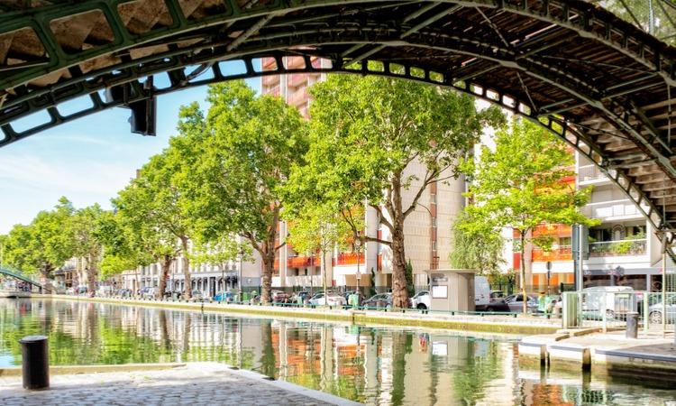 Hostel em Paris Canal St Martin