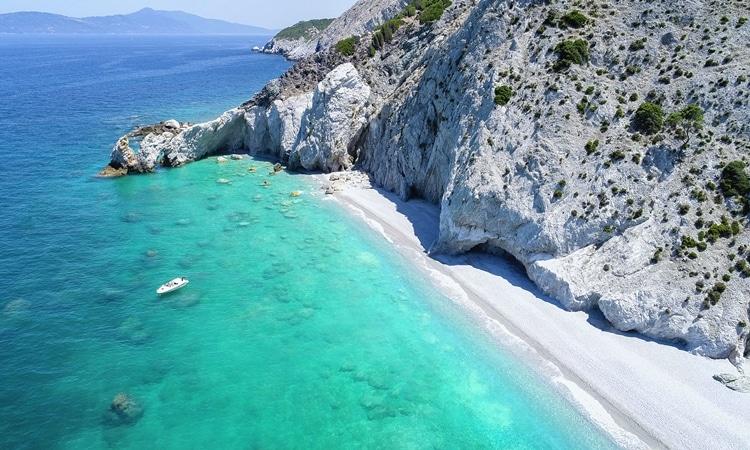 praias da grecia lalaria skiathos