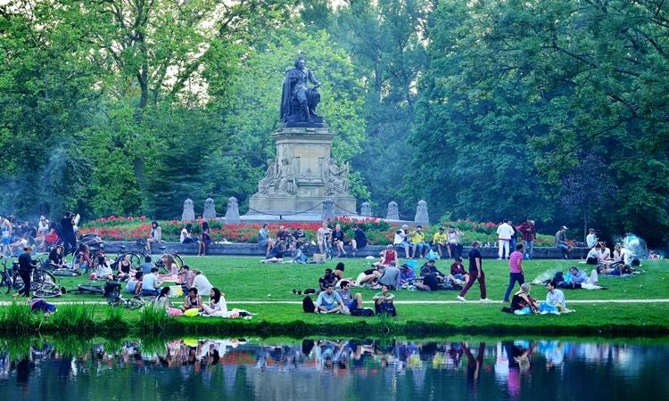 vondelpark amsterdam jardim