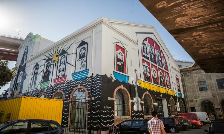 Arte de rua em Lisboa