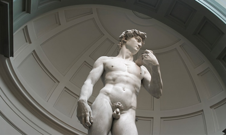 david de michelangelo na galleria dell'accademia