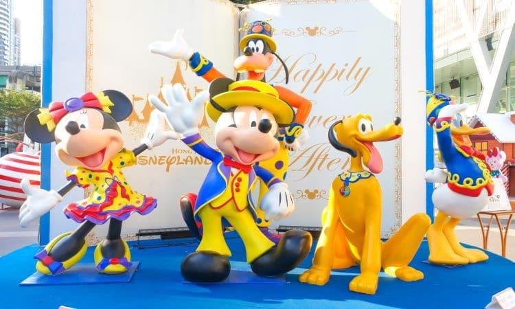 Euro Disney Mickey