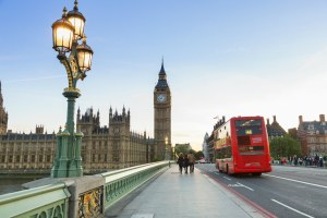 Ônibus de turismo em Londres