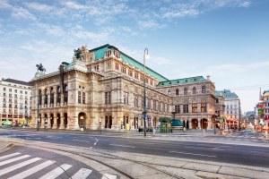 Ópera de Viena paisagem